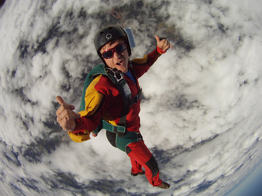 The Best Experiece I've Ever Had - Solo Skydiving